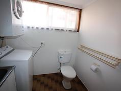 Laundry & second toilet
