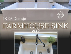 A review of the IKEA Domsjo farmhouse sink