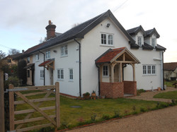 Extension and Porch