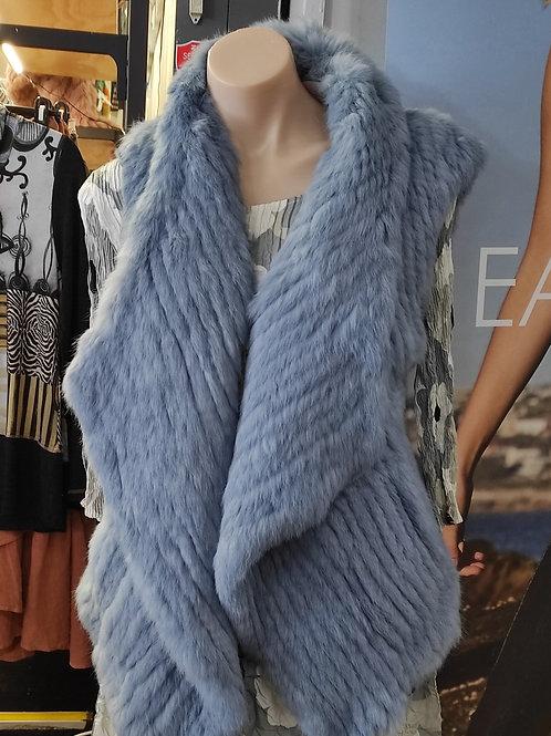 Rabbit Fur Vest V28