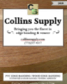 Collins Supply Edge banding Price List