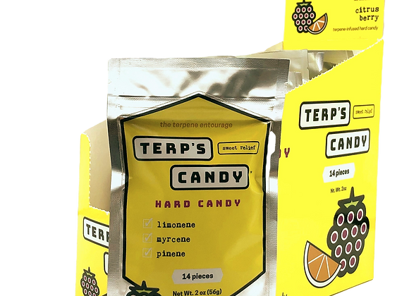 Terp's Candy Case / 12 Bags (Both Flavors)