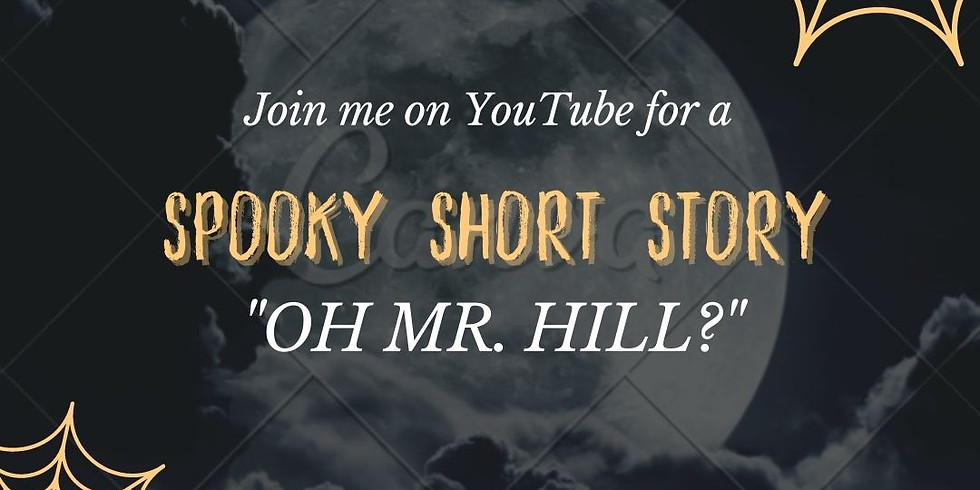 Live Reading Spooky Short Story