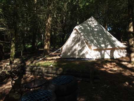 Woodland bell tents now available