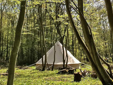 Glamping Bell Tents Now Available