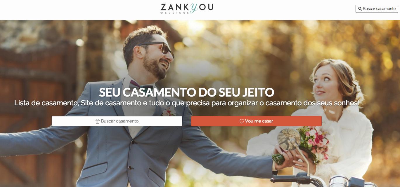 Zankyou Sites de casamento