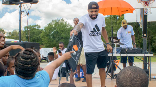 Back to School Block Party x Backpack Giveaway