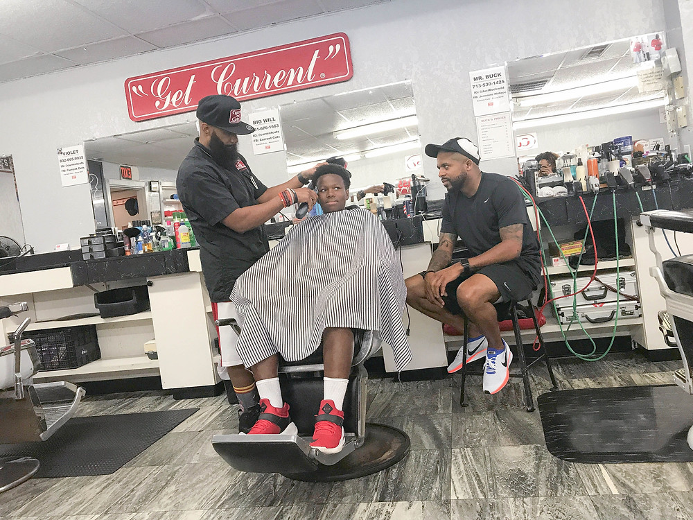 Big Brother Big Sister Barbershop Campaign