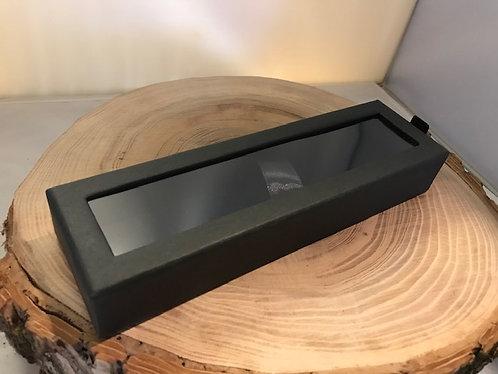 Coffrets en carton rigide noir et mica CG - 04