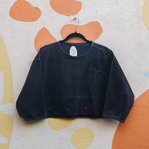 Blusa Jeans Crooped
