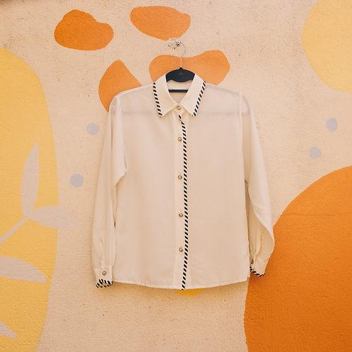 Camisa White Vintage