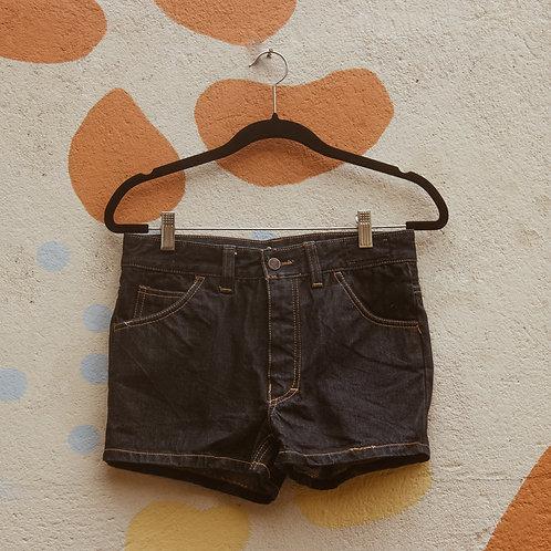 Shorts Cintura Alta Jeans