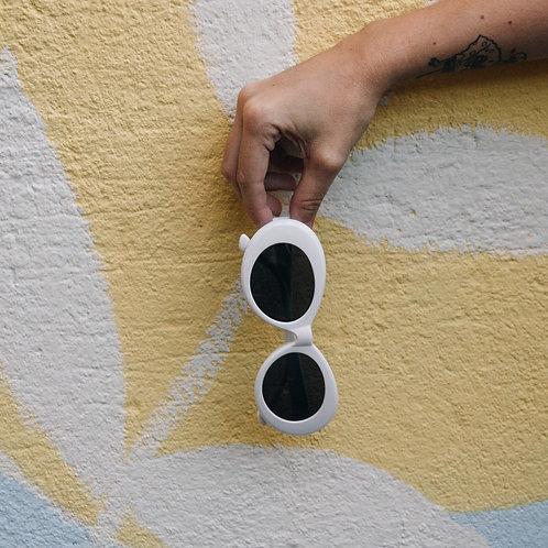 Óculos de Sol Kurt Branco