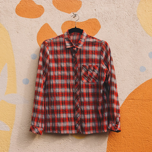 Camisa Xadrez Grunge