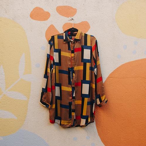 Camisa Mondrian