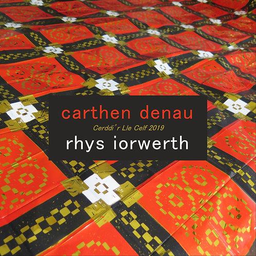 (Pamffled) Carthen Denau: Cerddi'r Lle Celf 2019 - Rhys Iorwerth
