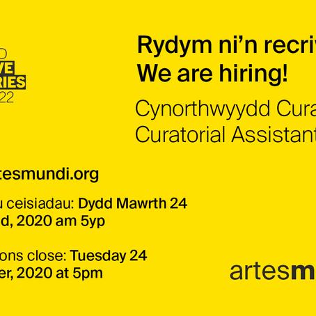 Swydd: Cynorthwyydd Curadurol - Artes Mundi