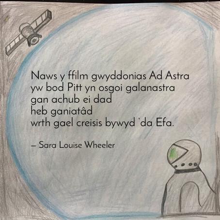 Diwrnod Barddoniaeth Cenedlaethol: Gŵyl Insta-gerddi'r Stamp - Sara Louise Wheeler