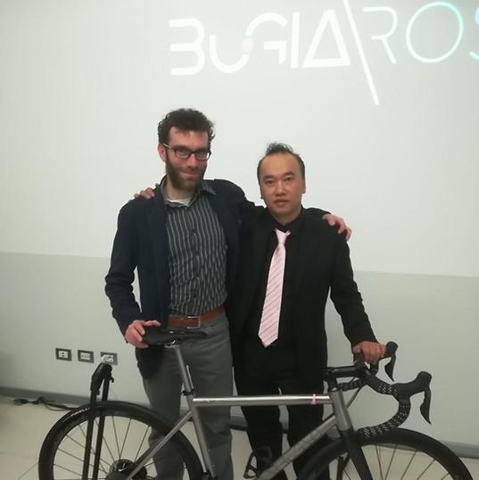 Con Simoncini- presentazione Bugno Rosa-