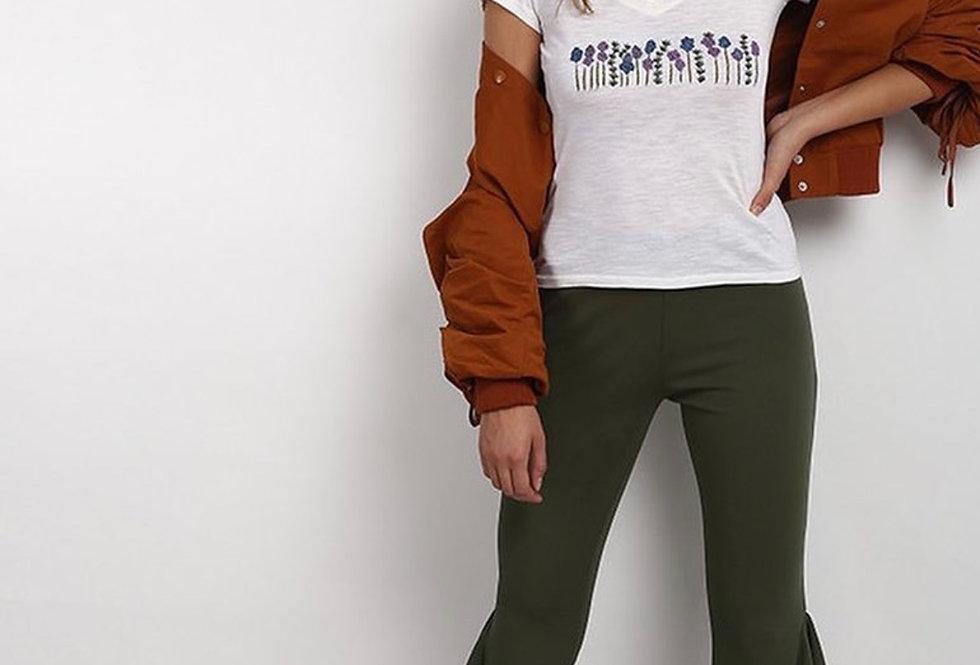 Garland embroidered T shirt