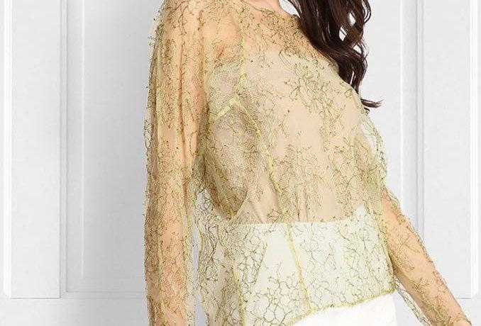 Lace Full Sleeve T Shirt