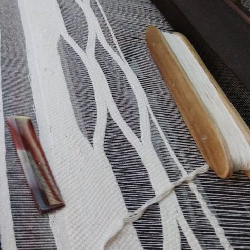 HAnd weaving detail