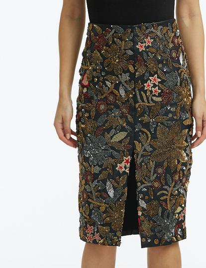 Florentine Vegan Leather skirt