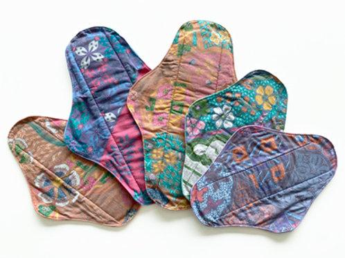 Batik Cloth Sanitary Pad (5pcs)
