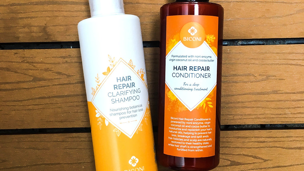 Biconi- Hair Repair Shampoo & Conditioner bundle  洗髮乳及護髮素套裝