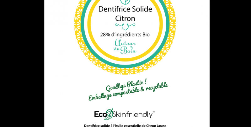 RECHARGE DENTIFRICE SOLIDE CITRON
