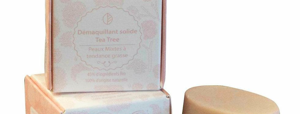 DÉMAQUILLANT SOLIDE TEA TREE