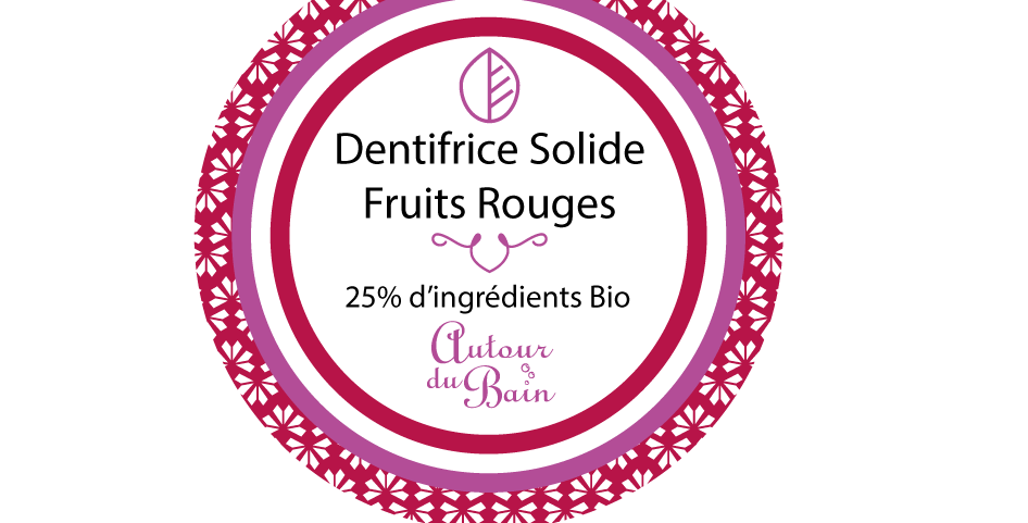 RECHARGE DENTIFRICE SOLIDE FRUITS ROUGES