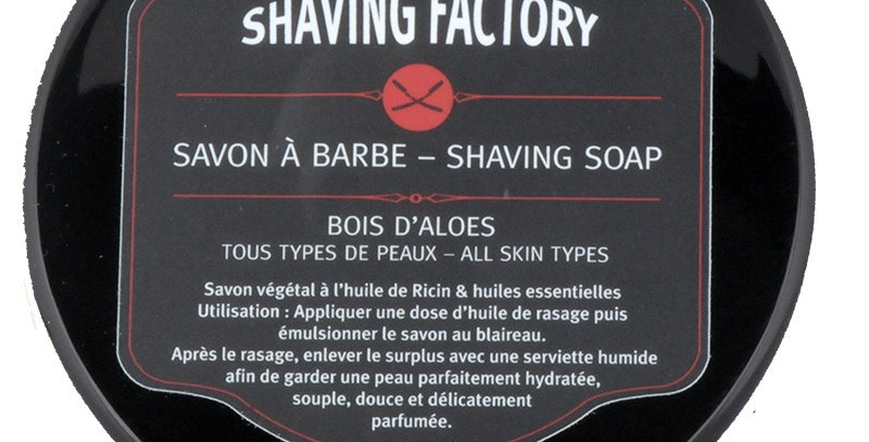 SAVON A BARBE BOIS D'ALOE
