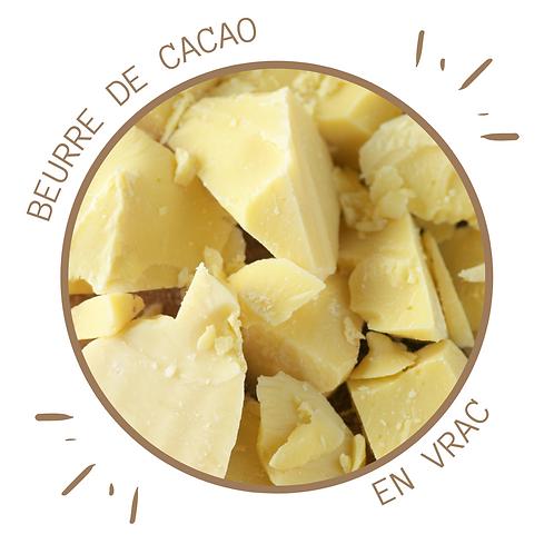 BEURRE DE CACAO BIO EN CUBE