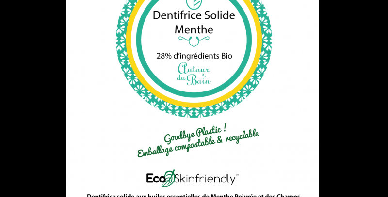 RECHARGE DENTIFRICE SOLIDE MENTHE