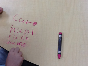1st Grade- Magic Crayons