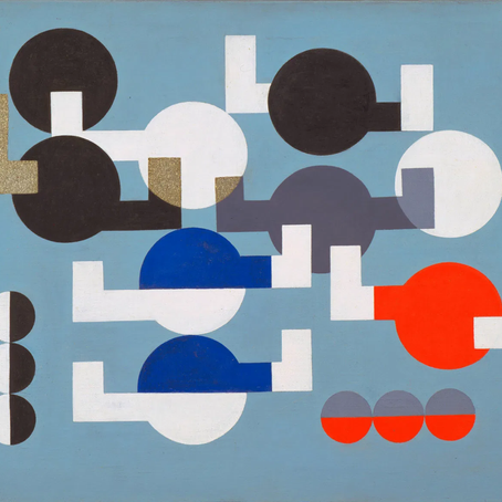 Not just Jean Arp's wife. But mostly: Sophie Taeuber