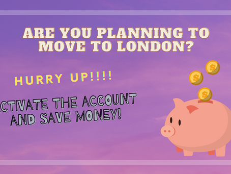 MOVING TO LONDON: 2 BANK ACCOUNTS YOU NEED TO KNOW ABOUT.