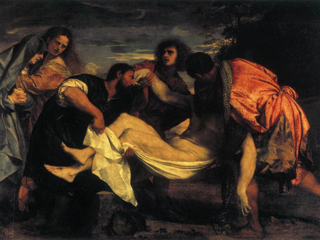 THE ENTOMBMENT OF CHRIST BY TIZIANO VECELLIO (TITIAN)