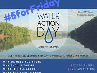 Five for Friday: Water You Doing on Wednesday?