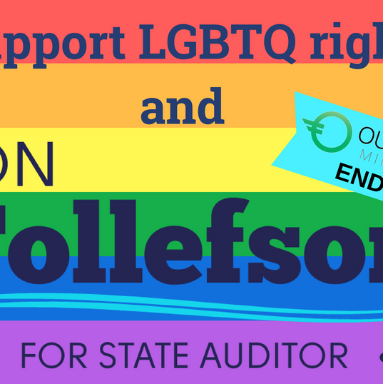 Tollefson LGBT signs front.png