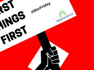 Five for Friday: Putting First Things First