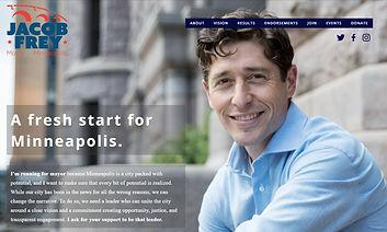 Jacob Frey, Mayor of Minneapolis