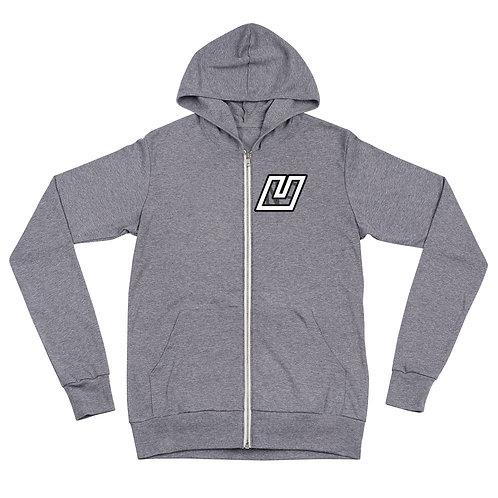 NoU zip hoodie