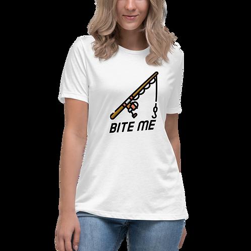 Cod help me series - Womens Tee  -  Bite Me