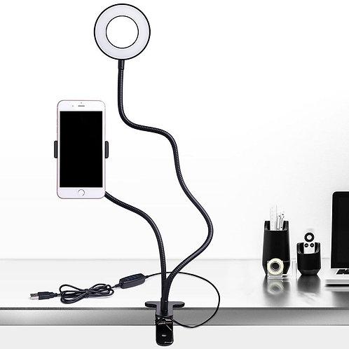 Stream LED Light - with cell phone holder!