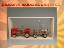 Dárková láhev Traktor starý