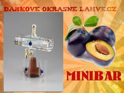 Dárková láhev Minibar