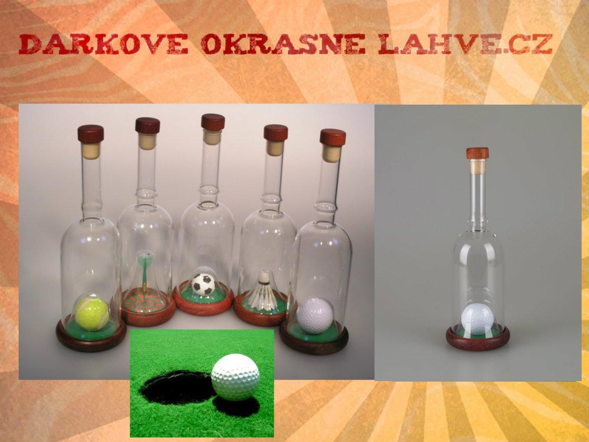 Dárková láhev golf 1