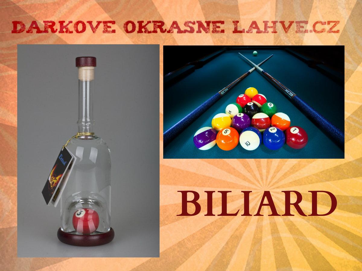 DÁRKOVÁ LÁHEV BILIARD 1